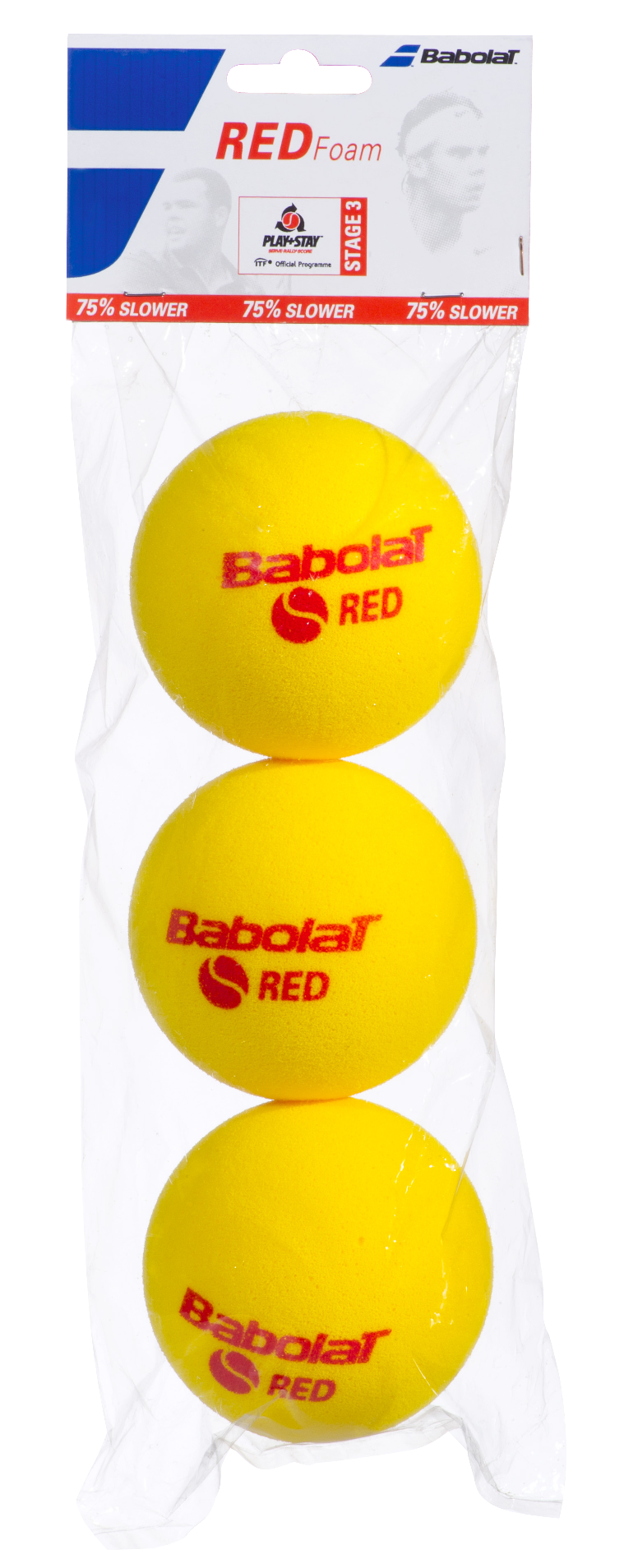 Red Foam (3 ballen)