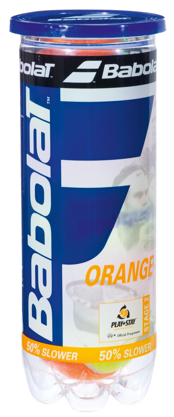 Oranje (3 ballen/tube)